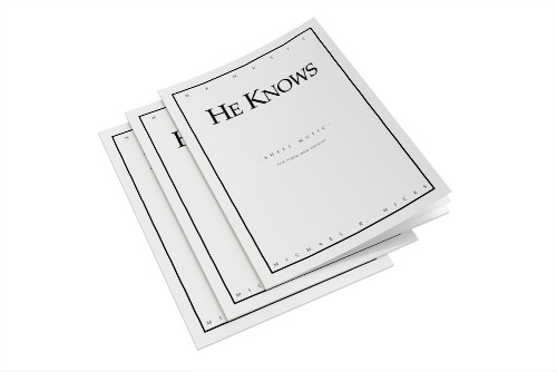 Michael Hicks He Knows Sheet Music